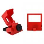 Brady 65397, 480/600V Red Polypropylene Clamp-On Breaker Lockout
