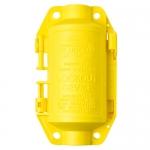 Brady 65695, Yellow Polypropylene Hubbell Plugout Lockout