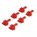 Brady 65750, Small Red ABS Plastic Fuse Lockout Device