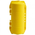 Brady 65968, Yellow Polypropylene Hubbell Plugout Lockout
