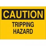 Brady 25607, 10″ x 14″ Polystyrene Caution Tripping Hazard Sign