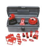 Brady 99305, Breaker Lockout Toolbox Kit with out Padlocks