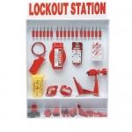 Brady 99693, Extra Large Lockout Station with Safety Padlocks
