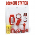 Brady 99698, Large Lockout Station with Components
