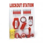 Brady 99699, Large Lockout Station with Safety Padlocks