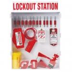 Brady 99703, Large Enclosed Lockout Station with Safety Padlocks