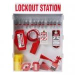 Brady 99704, Large Lockout Station with Steel Padlocks