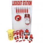 Brady 99705, Small Lockout Station with out Padlocks