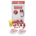 Brady 99706, Small Lockout Station with Safety Padlocks