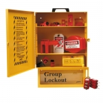 Brady 99709, Combined Lockout & Lock Box Station with Safety Padlocks