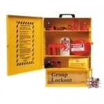 Brady 99710, Combined Lockout & Lock Box Station with Steel Padlocks