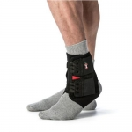 Core Products AKL-6350, One Fits Most Power Wrap Ankle Brace, Black
