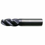 Cleveland C60113, 4-Flute Ball Nose End Mill