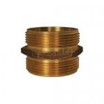 Dixon Valve DMH2525T, Cast Brass Hex Nipple