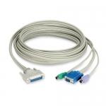 BlackBox EHN230D-0010, 10′ CAT5 Extender Cable
