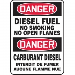 "Accuform FBMCHL270VA, Danger Safety Sign ""Diesel Fuel – No Smoking…"""