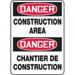 "Accuform FBMCRT135XT, Safety Sign ""Danger, Construction Area"""