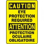 """Accuform FBMPPA667VS, Sign """"Caution, Eye Protection Required"""""""