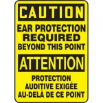"""Accuform FBMPPE632XV, Sign """"Caution, Ear Protection Required…"""""""