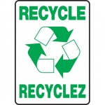 """Accuform FBMRCY508XT, Sign """"Recycle"""" Dura-Plastic"""
