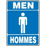 "Accuform FBMRST520XT, Sign ""Men"" Dura-Plastic"