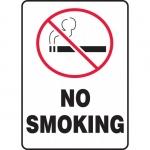 """Accuform FBMSMK407XF, 10″ x 7″ Sign """"No Smoking"""" Dura-Fiberglass"""