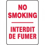 "Accuform FBMSMK545XT, Safety Sign ""No Smoking"" Dura-Plastic"