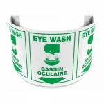 "Accuform FBPSJ349, 180D Projection 12″ Bilingual Sign ""Eye Wash"""