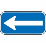 """Accuform FRA253RA, 6″ x 12″ Parking Sign with Symbol: """"Arrow"""""""
