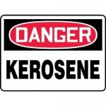 "Accuform FRMCHG010VP, OSHA French Sign ""Kerosene"" Plastic"