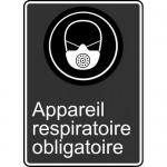 "Accuform FRMCSA573XL, French Sign ""Appareil Respiratoire Obligatoire"""