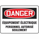 """Accuform FRMELC189XF, Sign """"Equipement Electrique Personnel…"""""""