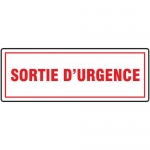 "Accuform FRMEXG506XL, Aluma-Lite French Sign ""Sortie D'urgence"""
