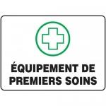 "Accuform FRMFSR520XL, French Sign ""Equipement De Premiers Soins"""