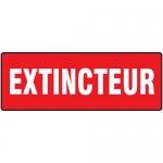 "Accuform FRMFXG577XF, Dura-Fiberglass French Sign ""Extincteur"""