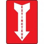 "Accuform FRMFXG936XF, Dura-Fiberglass French Sign ""Extincteur"""