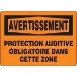 """Accuform FRMPPE317XL, Sign """"Protection Auditive Obligatoire Dans …"""""""