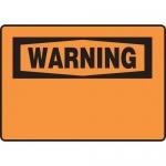 "Accuform FRMRBH333XF, Dura-Fiberglass OSHA French Blank ""Warning"""