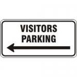"Accuform FRP200RA, Engineer Grade Prismatic Sign ""Visitors Parking"""