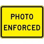 """Accuform FRW759DP, 24″ x 36″ DG High Prism Sign: """"Photo Enforced"""""""