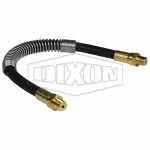Dixon Valve GWH2400S, Grease Whip Hose Assembly W/Strain Relief SP