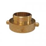 Dixon Valve HA30S25F, Cast Brass Hydrant Adapter Pin Lug