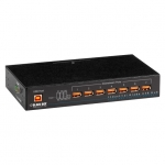 BlackBox ICI207A, 7-Port Industrial-Grade USB Hub