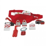 Accuform KSK115, STOPOUT Lockout/Tagout Kit with Red Pouch