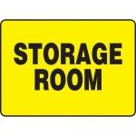"Accuform MADM931XF, Dura-Fiberglass Sign with Legend ""Storage Room"""