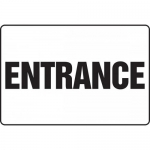 "Accuform MADM948XF, BIGSigns Dura-Fiberglass Sign ""Entrance"""