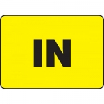 "Accuform MADM997XF, 10″ x 14″ Dura-Fiberglass Sign with Legend: ""In"""