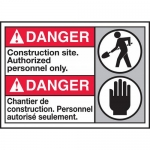 """Accuform MAFC128VS, ANSI Sign """"Construction Site Authorized…"""""""