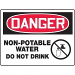 "Accuform MCAW175XP, BIGSigns Sign ""Non-Potable Water Do Not Drink"""