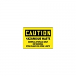 "Accuform MCCH605VA, Sign ""Hazardous Waste Material Storage Only…"""